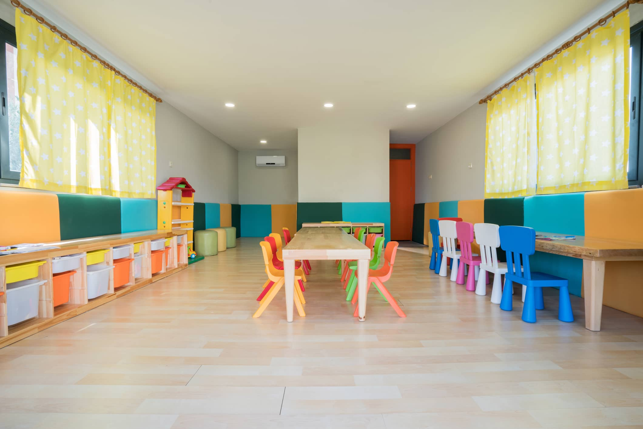 energy usage for child care centers