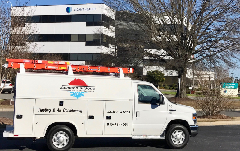 Heating & Cooling In Greenville, NC