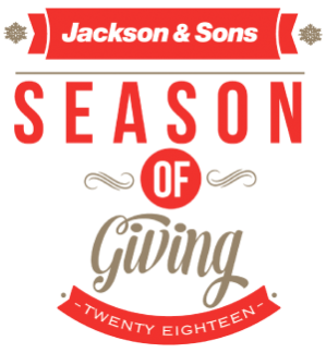 Jackson and Sons Season of Giving