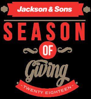 Jackson and Sons Season of Giving